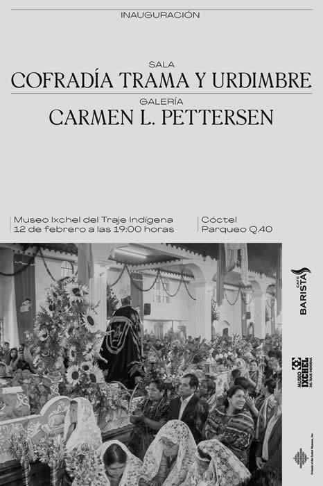 Invitacin CofradaII Tramay Urdimbrey Galera Carmen L Pettersen