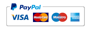 PayPal logo and payment options
